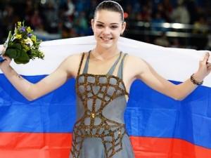 Adelina Sotnikova figure skater
