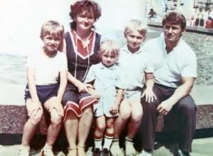 Savchenko and her family