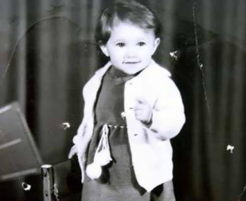 Savchenko in her childhood
