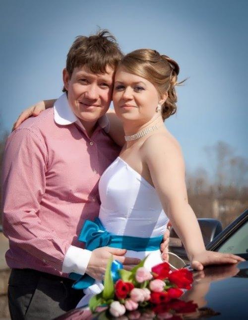 Smyshlyaev and his wife Olga Lazarenko