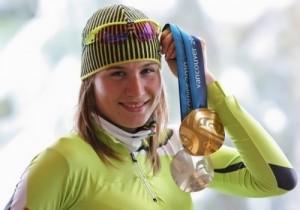 Anastasia Kuzmina Olympic champion
