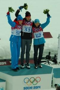Anastasia Kuzmina Sochi 2014