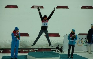 Anastasiya Kuzmina Olympic champion