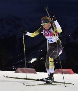 Anastasiya Kuzmina Sochi 2014