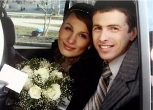Anastasia and her husband Daniel Kuzmin