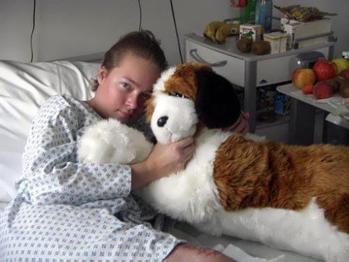 Irina Skvortsova in hospital