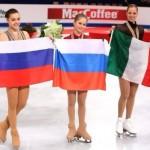 Yulia Lipnitskaya youngest champion