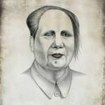 Mao Zedong as Marilyn Manson