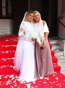 Kozhevnikova and her mum
