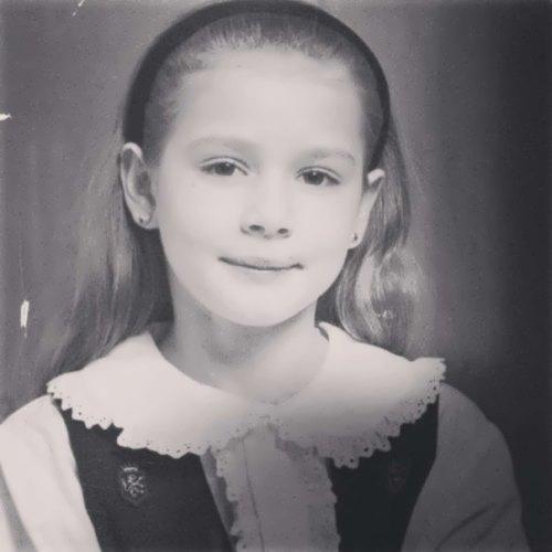 Maria Kozhevnikova in her childhood