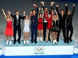 Russian skaters 2014