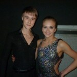 Sinitsina and Zhiganshin ice dancers