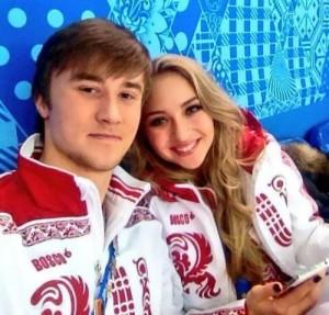 Victoria Sinitsina and Ruslan Zhiganshin - Russian ice dancers