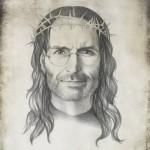 Steve Jobs as Jesus Christ