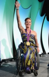 Tatyana McFadden gold medalist