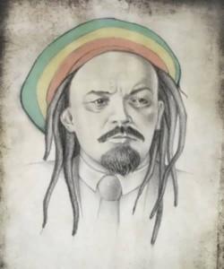 Vladimir Ilyich Lenin as Bob Marley