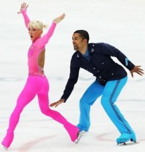 Savchenko and Szolkowy figure skaters
