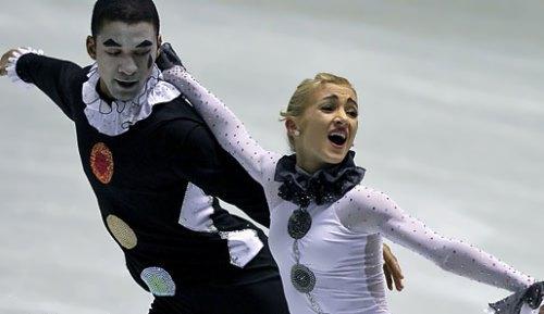 Savchenko and Szolkowy famous skaters