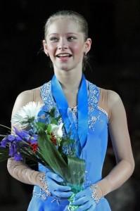 Yulia Lipnitskaya figure skater