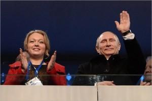 Irina Skvortsova and Vladimir Putin