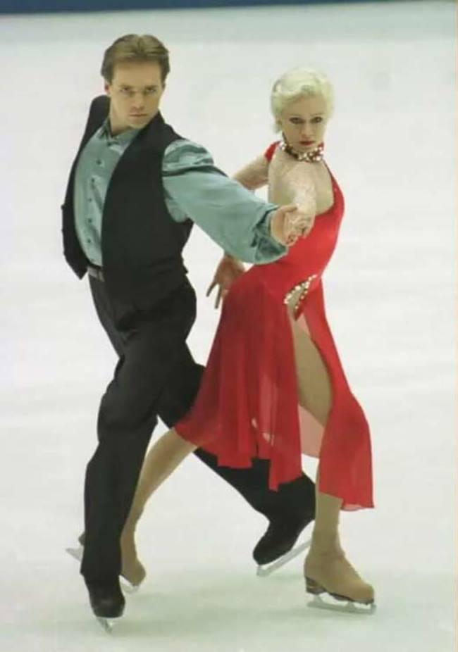 Oksana Grishuk – Russian ice dancer
