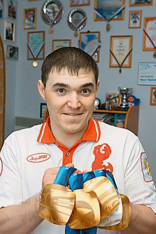 Irek Zaripov Paralympics participant