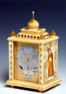 Orthodox Easter clock Konstantin Chaykin