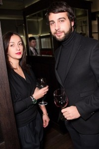 Urgant and Natalia Kiknadze