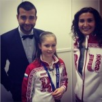Urgant and Yulia Lipnitskaya