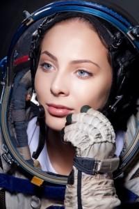 Gray-eyed brunette Yulia Alipova