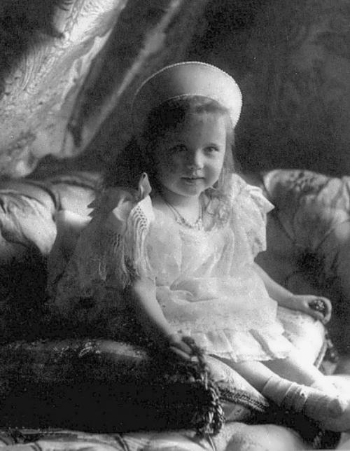 3 year-old Anastasia Romanova