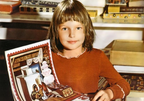 volochkova in her childhood
