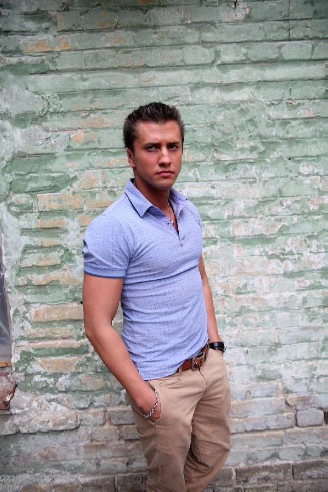 Pavel Priluchniy, Russian actor