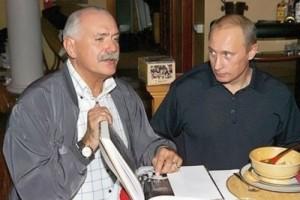 Mikhalkov Putin