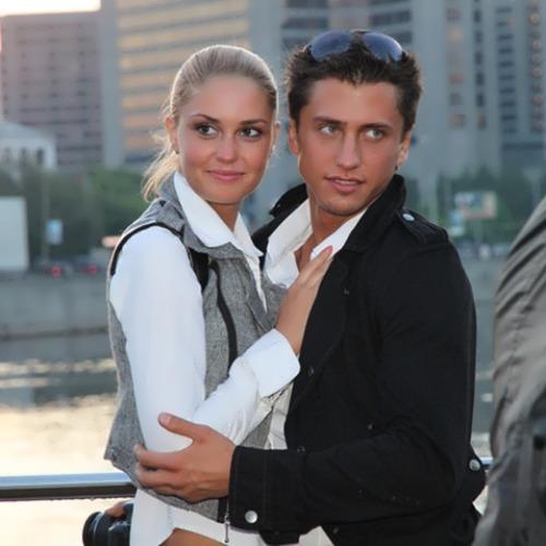 Pavel Priluchny wife