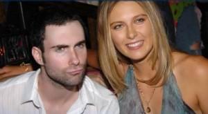 Sharapova and Adam Levine