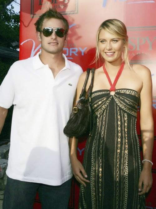 Sharapova and Andy Roddick