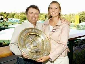 Sharapova and her father
