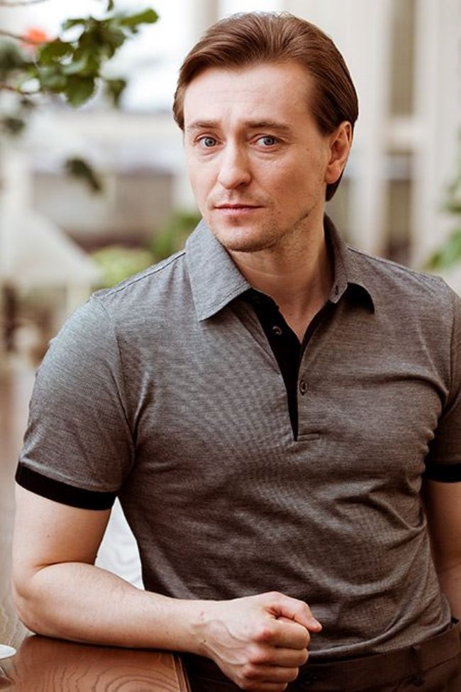 Sergey Bezrukov – Russian actor