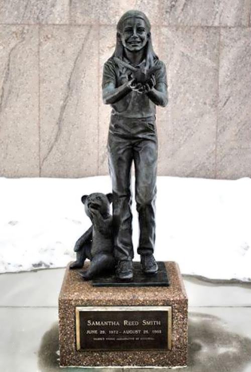 Samantha Smith monument