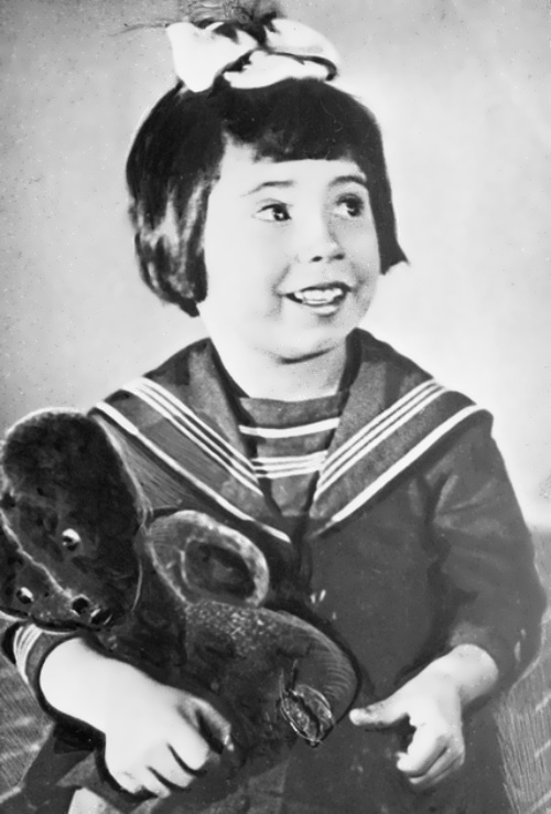 Tatiana Samoilova childhood