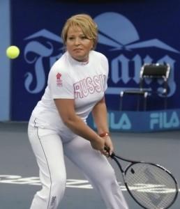 Valentina Matvienko tennis
