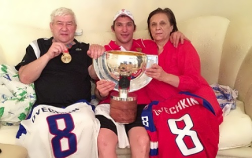 ovechkin parents