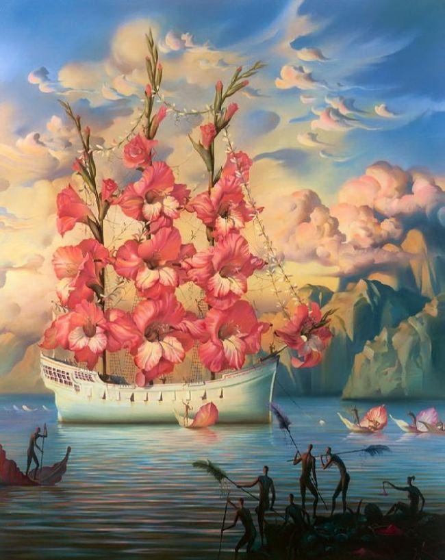 Vladimir Kush – Surrealist artist