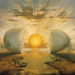 Magical worlds by Vladimir Kush