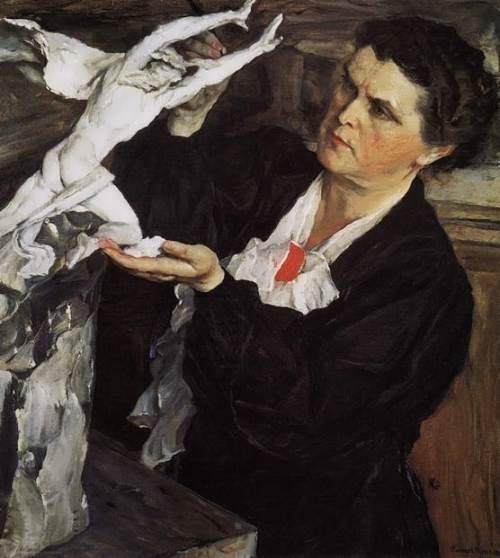 mukhina portrait