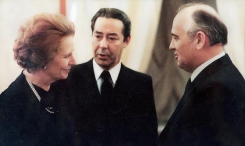 thatcher gorbachev sukhodrev