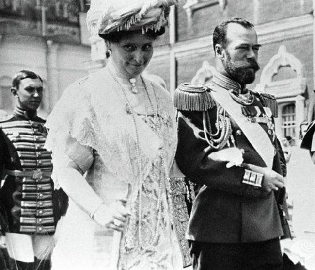 Nicholas II and Alexandra Feodorovna