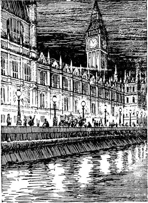 Thames Embankment in London