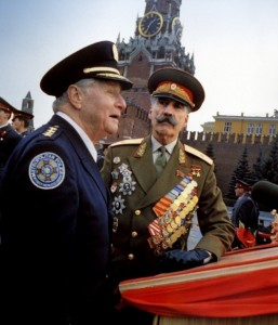 Christopher Lee Police Academy 7 Mission to Moscow